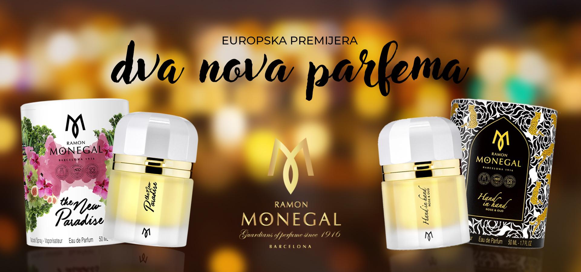 Prvi u Europi lansiramo dva noviteta Ramona Monegala