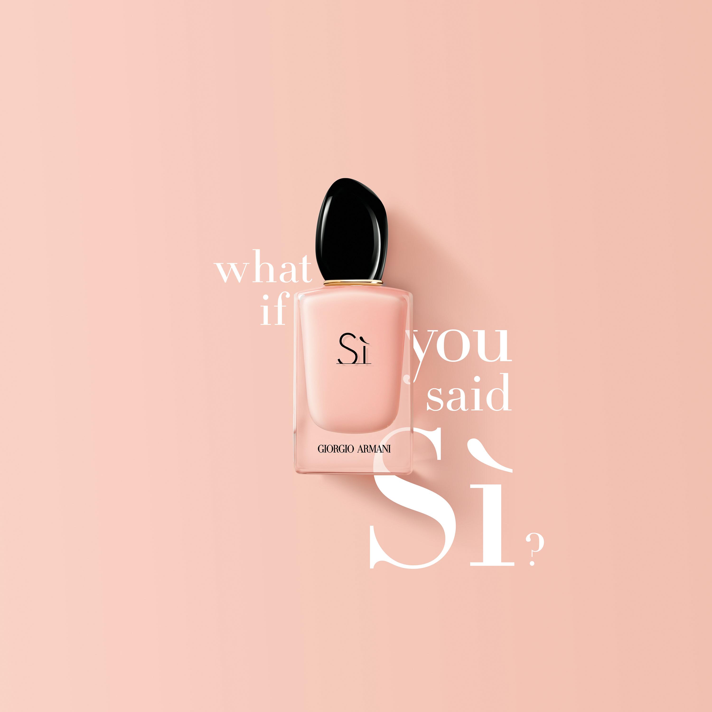Sì Fiori Eau de Parfum je nastavak najljepše mirisne priče
