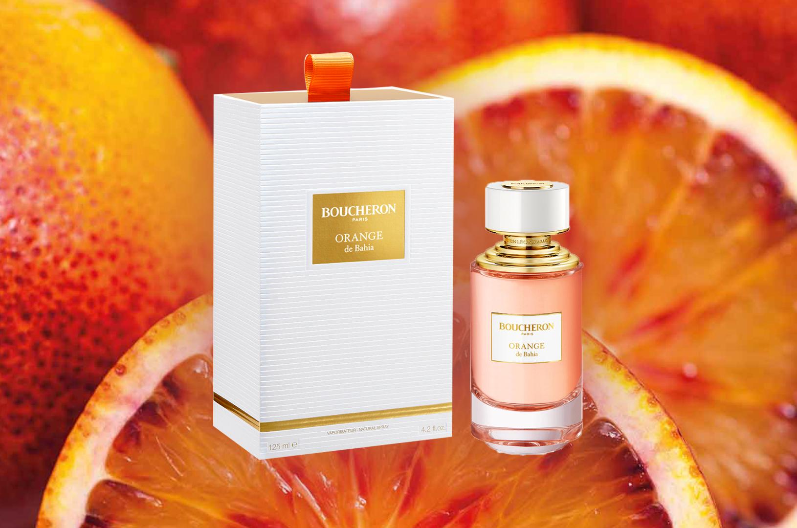 Orange de Bahia, najnoviji Boucheron parfem posvećen je rijetkom afričkom dragulju pod nazivom Mandarin Garnet