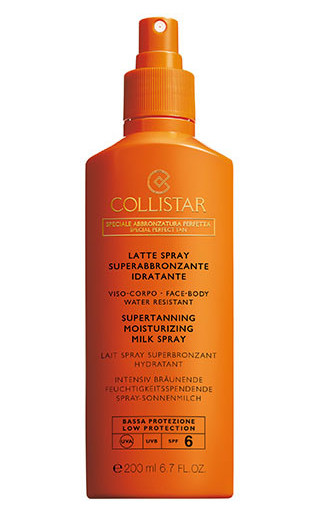 Collistar Perfect Tanning Moisturizing Milk Spray Spf6