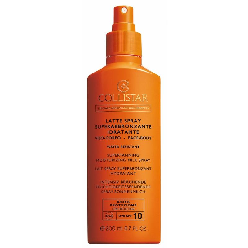 Collistar Perfect Tanning Moisturizing Milk Spray Spf10