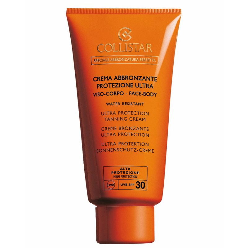 Collistar Perfect Tanning Ultra Protection Tanning Cream Spf 15